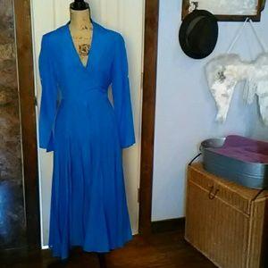 Jones New York long Blue Dress